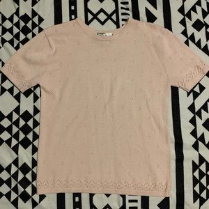 💰5 for $25 sale💰 Vintage Pink sweater top